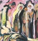 Óleo sobre lienzo 90 x 98 cm  1985