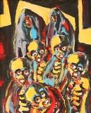 Óleo sobre lienzo 116 x 89 cm 1976