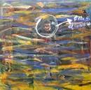 Óleo sobre tabla 122 x 122 cm 1990