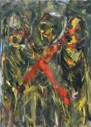 Óleo sobre tabla 85 x 62 cm 1994