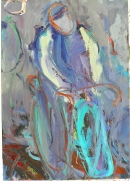 Óleo sobre lienzo  110 x 84 cm  2004