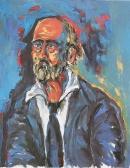 Óleo sobre lienzo 73 x 60 cm 1980