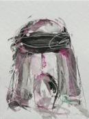 Tinta-carbón-acuarela 24 x 18 cm 2005-2006