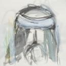 Tinta-carbón-acuarela 30 x 30 cm 2005-2006