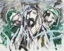 Tinta-carbón-acuarela 30 x 37,5 cm 2005-2006