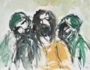 Tinta-carbón-acuarela 30 x 40 cm 2005-2006