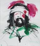 Tinta-carbón-acuarela 35 x 30 cm 2005-2006
