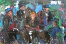 Óleo sobre lienzo 130 x 195 cm 1980