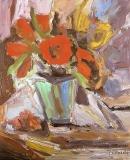 Óleo sobre lienzo 50 x 42 cm 1991