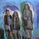 Óleo sobre lienzo 175 x 175 cm 1999