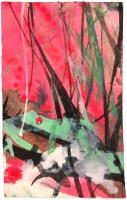 Tinta-acuarela 6 x 3,5 cm 2012-2013