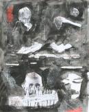 Óleo-papel 73 x 91 cm 1979-1999