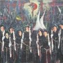 Óleo sobre lienzo  175 x 175 cm 1980