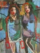 Óleo sobre lienzo  118 x 89 cm 2002