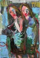 Óleo sobre lienzo  120 x 85 cm 2000