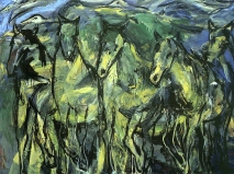 Öl auf Leinwand 160 x 195 cm 2003