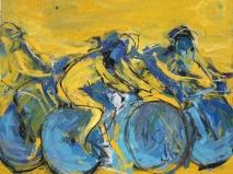 Öl auf leinwand 145 x 165 cm 2005