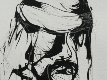 Ink-charcoal 24 x 18 cm 2005-2006