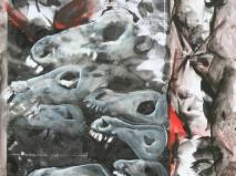 Óleo-papel 92 x 90 cm 1979-1999